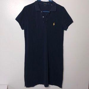 NWOT Polo R Lauren Mini Mesh Collar shirt-Dress L